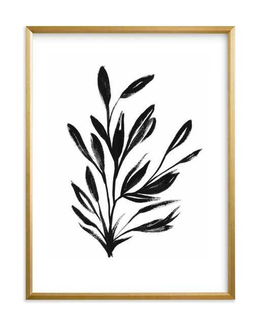 botanical sumi ink - Minted