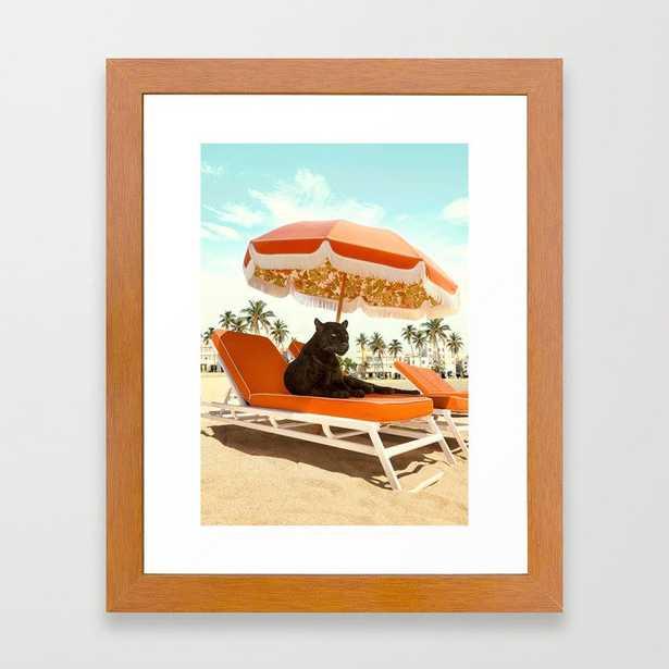 Miami Beach Framed Art Print - Society6