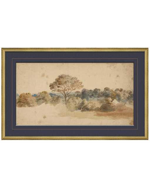 VINTAGE LANDSCAPE Framed Art - McGee & Co.