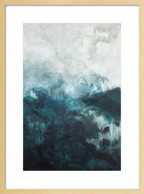 Untitled Blue - Artfully Walls