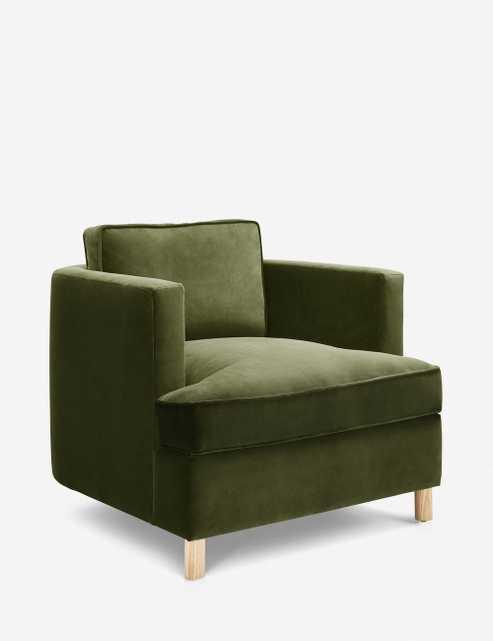 Belmont Velvet Chair, Jade By Ginny Macdonald - Lulu and Georgia