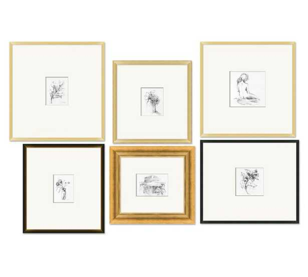 Chateau Gallery Wall Print Collection - 6 pieces - Pottery Barn