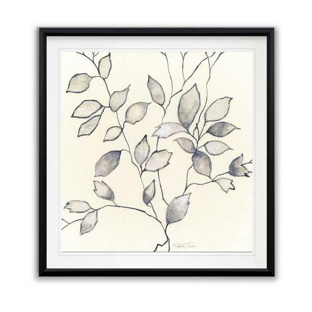 'Whispering Leaves I' Framed Oil Painting Print - Wayfair
