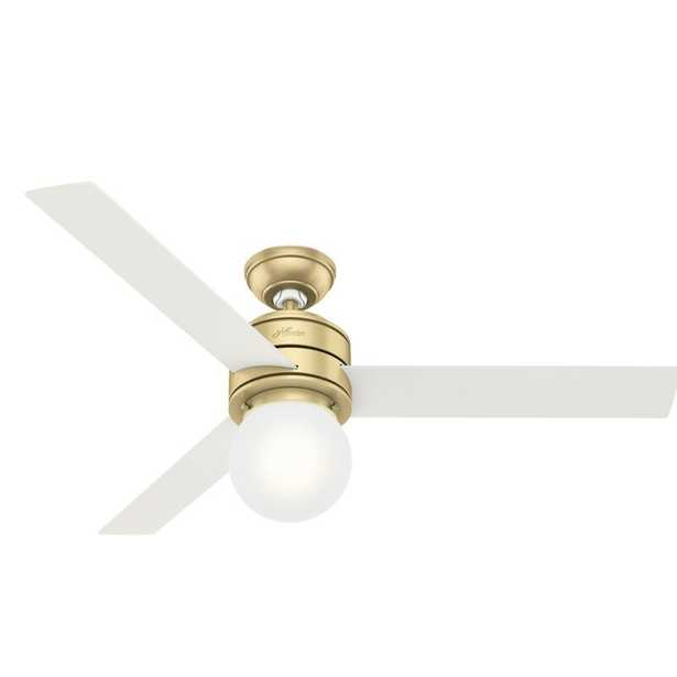 """52"""" Allison 3 Blade Ceiling Fan with Remote, Light Kit Included - Wayfair"""
