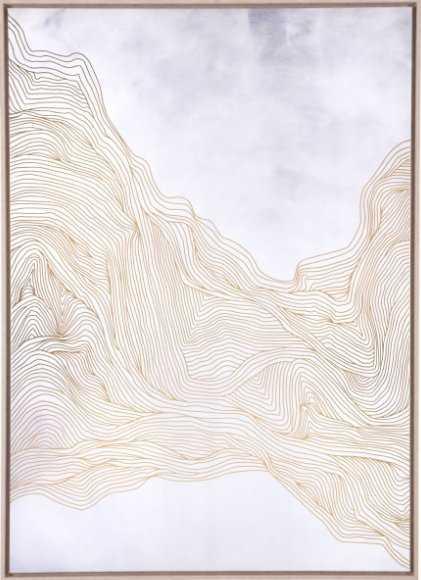 Gentle Canvas White & Gold - Zuri Studios
