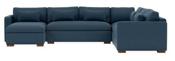 CHARLY - Corner Sectional with Left Storage Chaise - Interior Define