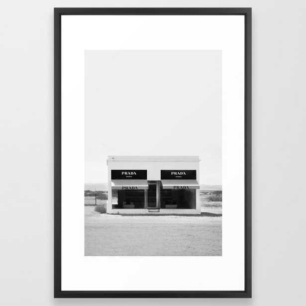 Fashion House Framed Art Print - Society6