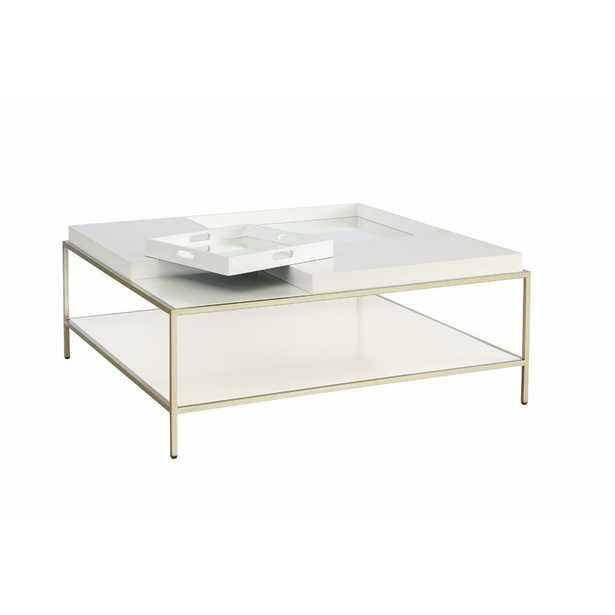 Clontarf Square Coffee Table with Tray Top - Wayfair
