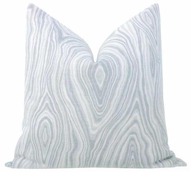 Agate Linen Print // Mist - Little Design Company