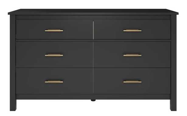Valeria 6 Drawer Double Dresser - Wayfair