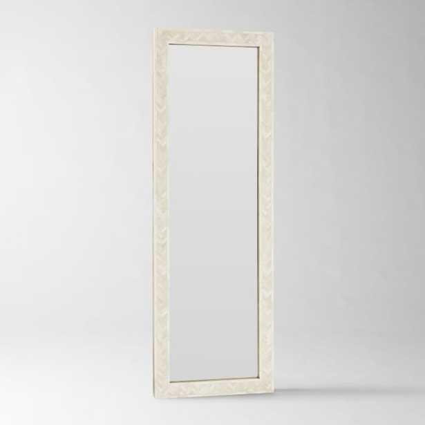 Parsons Floor Mirror, Bone Inlay - West Elm
