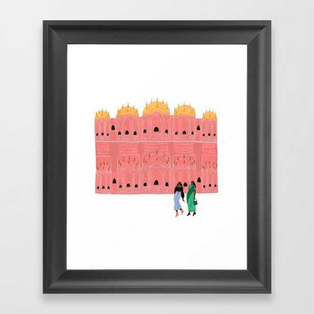 Hawa Mahal Framed Art Print - Society6