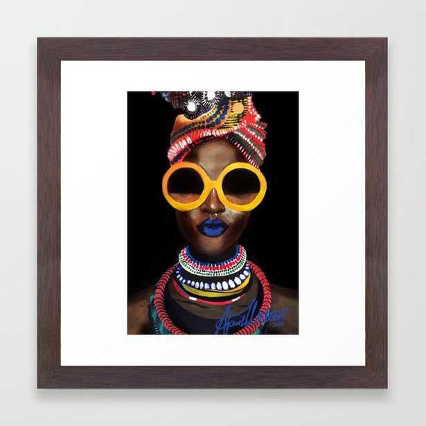 'Black Gold' Framed Art Print - Society6