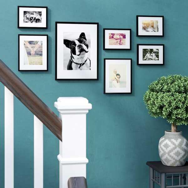 7 Piece Abner Picture Frame Set - Wayfair