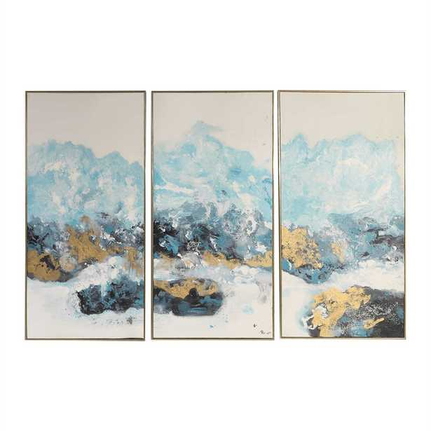 Crashing Waves Hand Painted Canvases - Hudsonhill Foundry