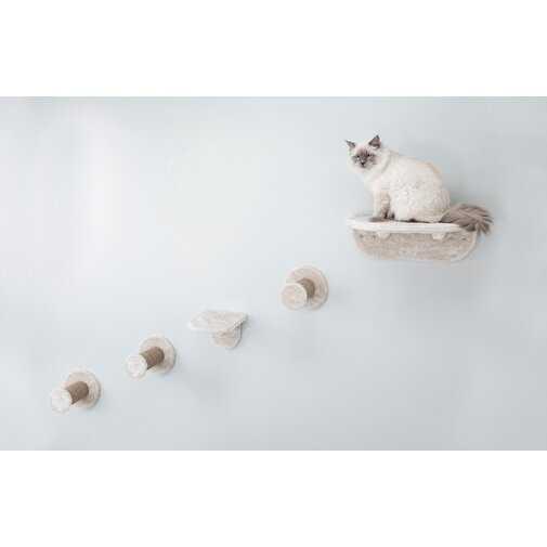 Hallam Wall Mount Cat Playground Cat Perch - Wayfair
