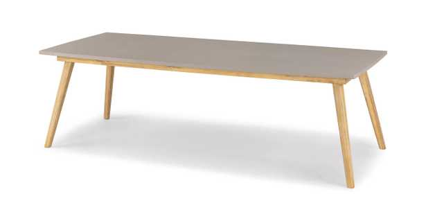 Atra Concrete Dining Table for 8 - Article