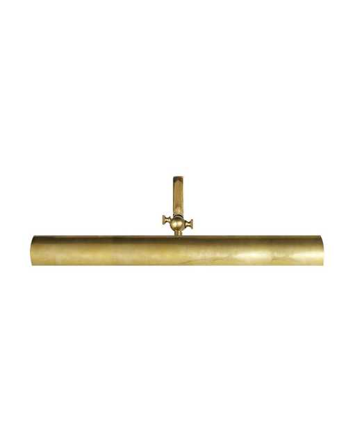 FRAME MAKERS PICTURE LIGHT_ antique brass - McGee & Co.