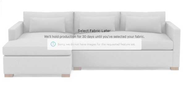 """DECIDE LATER: Charly 110"""" Left Chaise Sectional - Interior Define"""