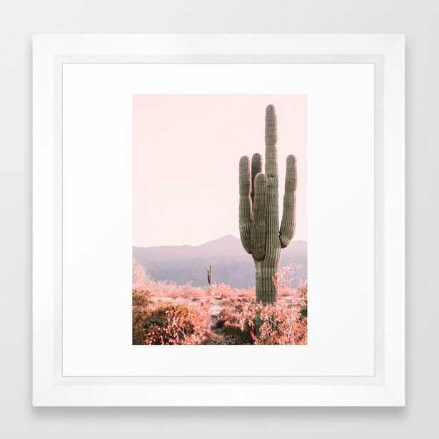 Vintage Cactus Framed Art Print - Society6