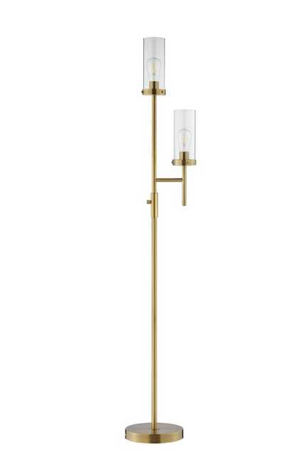 "Jamin 66"" LED Torchiere Floor Lamp - AllModern"