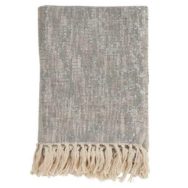 Bittle Tasseled Cotton Throw - Wayfair