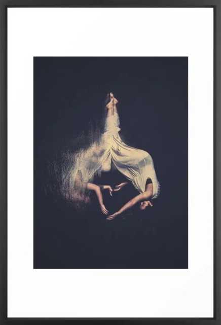weird daze Framed Art Print - Society6