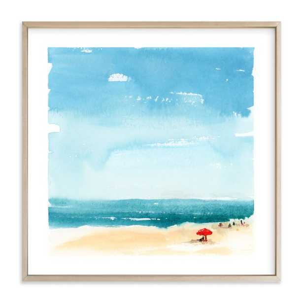 """Weekending, 30"""" Framed Art - Minted"""
