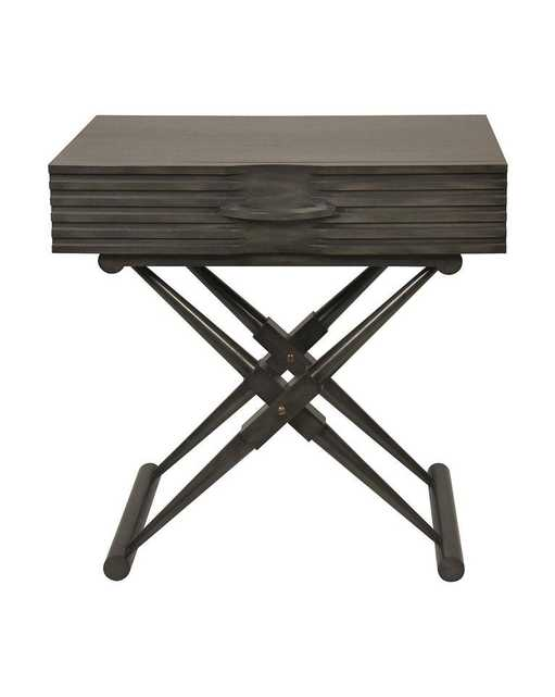 ZANE SIDE TABLE, PALE - McGee & Co.