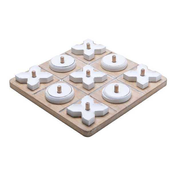 Table Top Tic Tac Toe Board Game - Wayfair