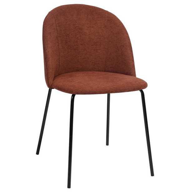 Cloyd Upholstered Side Chair (Set of 2)_Orange - Wayfair