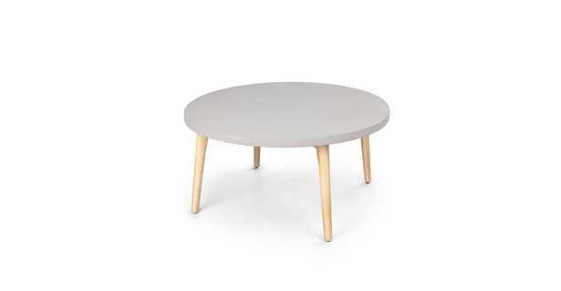 Atra concrete round coffee table - Article