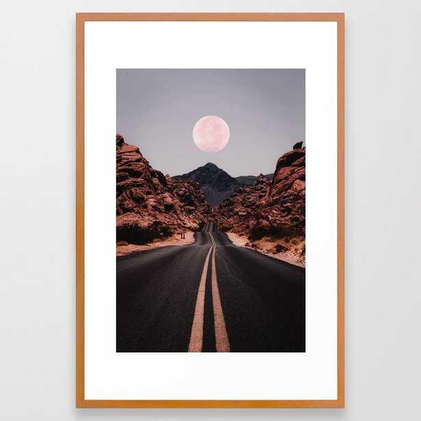 Road Red Moon - Society6