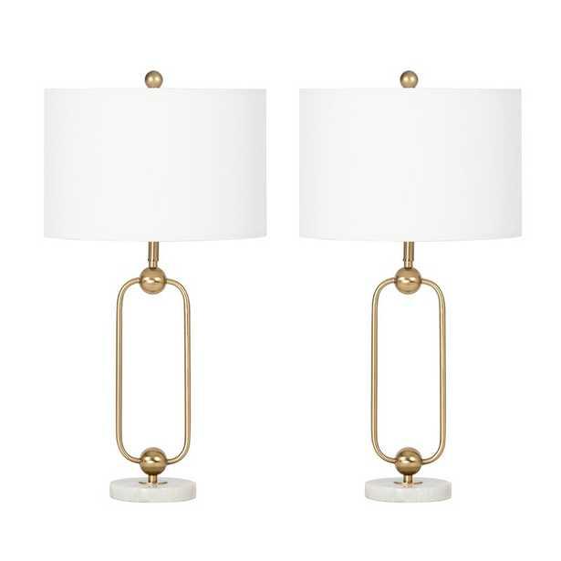 "Sokol 30"" Table Lamp Set (Set of 2) - Wayfair"
