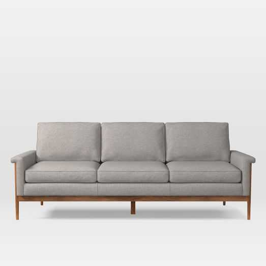 "Leon Wood Frame Sofa (82"") - West Elm"