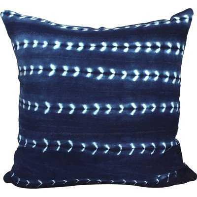 Arrow Print African Mud Cloth Pillow Cover - Wayfair