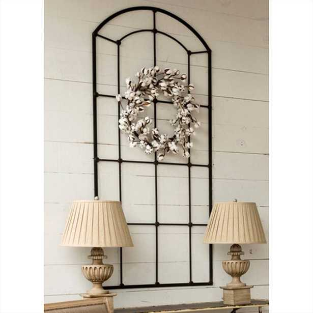 METAL ARCHED WINDOW FRAME - Shades of Light