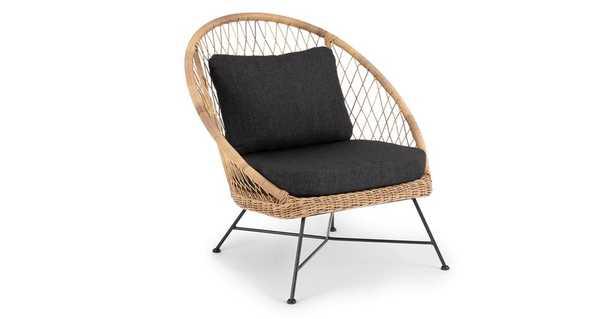 Aeri Slate Gray Lounge Chair - Article