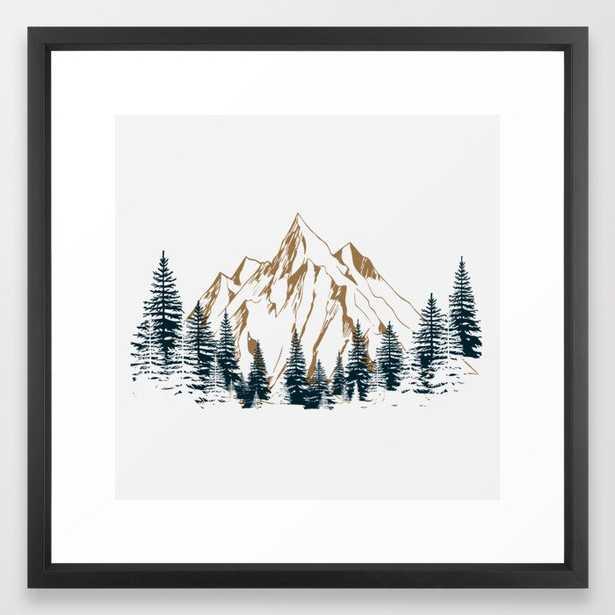 mountain # 4 Framed Art Print - Society6