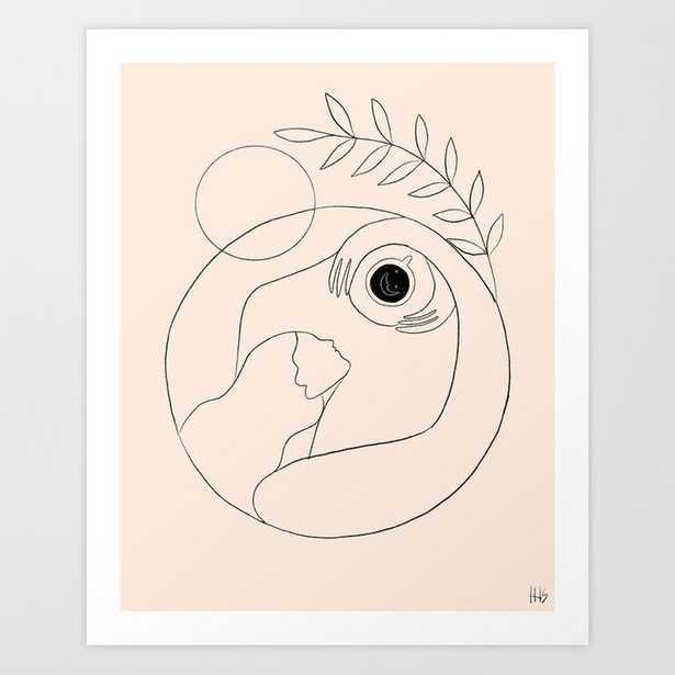 Morning coffee Art Print - Society6