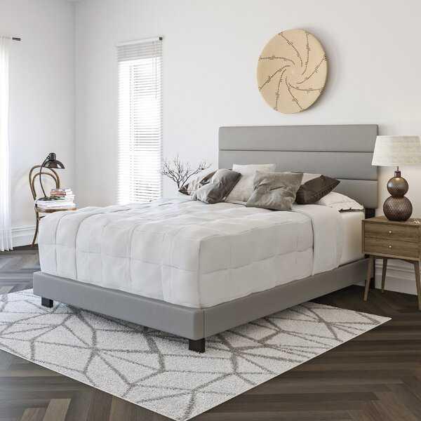 Juana Upholstered Standard Bed - Wayfair