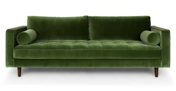 Sven Cascadia Grass Green Sofa - Article