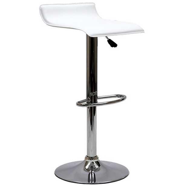 GLORIA BAR STOOL IN WHITE - Modway Furniture