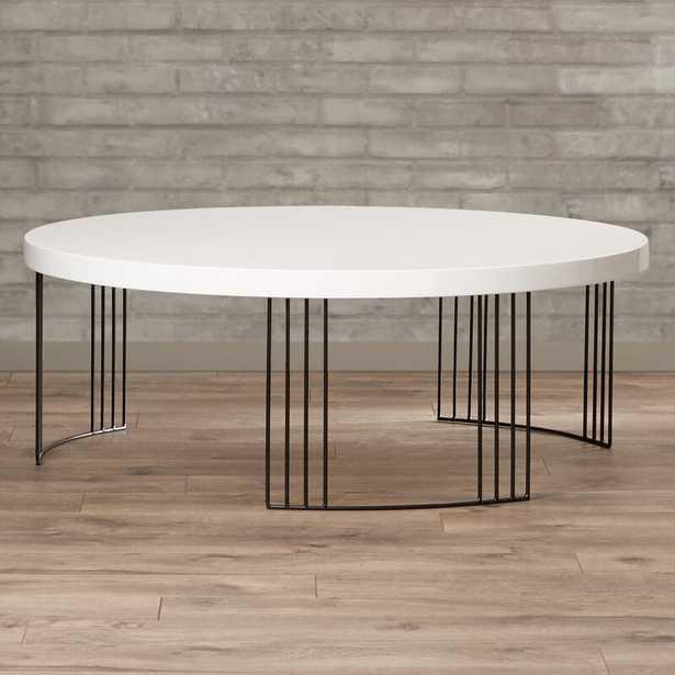 Keelin 3 Legs Coffee Table / White - Wayfair