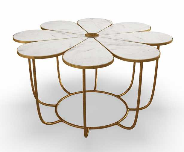 Juliana Marble Cocktail Table - Maren Home