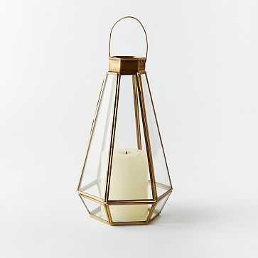 Faceted Lantern, Large - West Elm