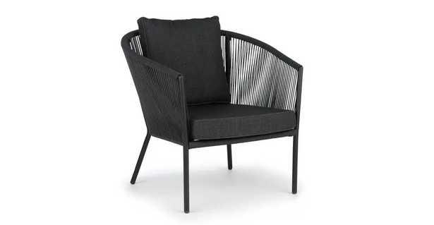 Corda Slate Gray Lounge Chair,  Slate Gray - Article