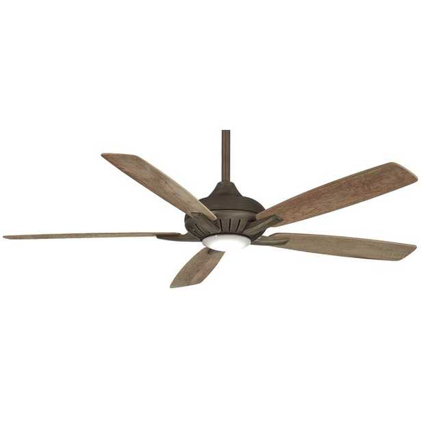 """60"""" Dyno 5 - Blade LED Standard Ceiling Fan with Remote Control and Light Kit Included - Wayfair"""