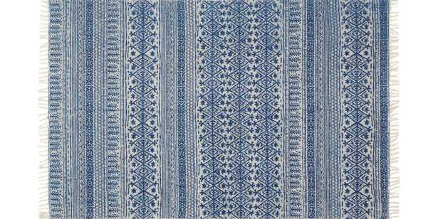 JE-01 MH BLUE RUG - Loma Threads
