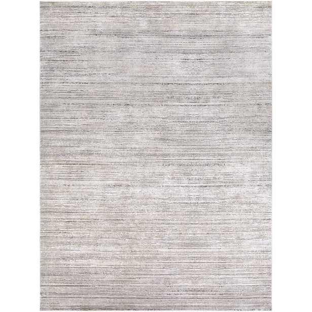 Bridgeton Striped Gray Sleek Area Rug - Wayfair